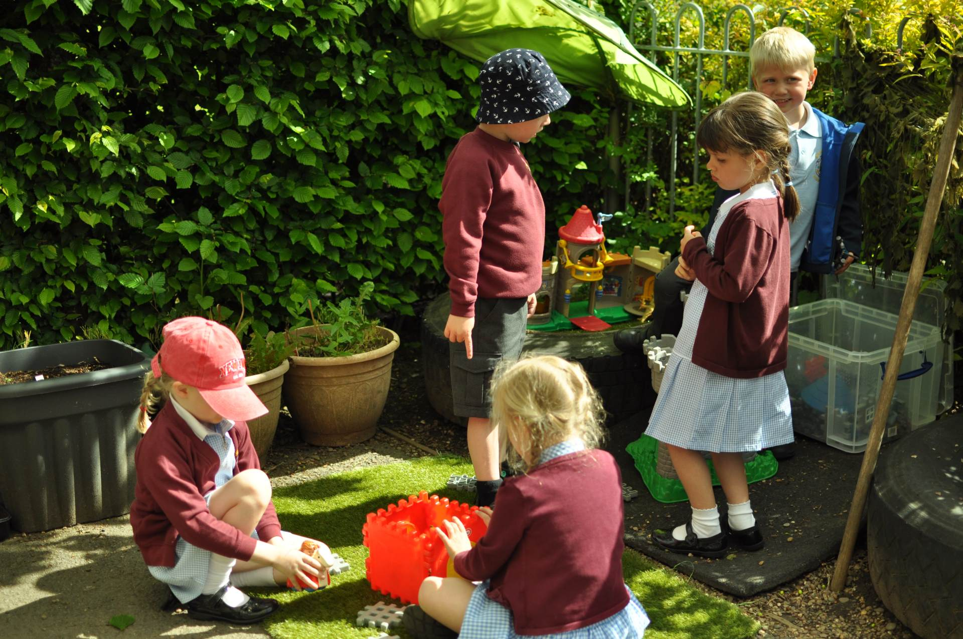 Nursery Children outside